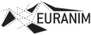 logo euranim black and white transparent