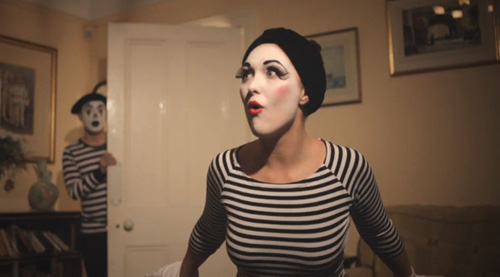 the girl is mime 2
